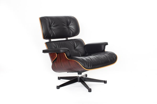 Vintage Eames Lounge Chair By Charles Ray Eames For Vitra For Sale