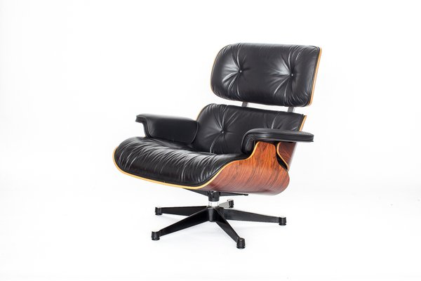 Charles Eames Lounge Stoel.Vintage Eames Lounge Chair By Charles Ray Eames For Vitra