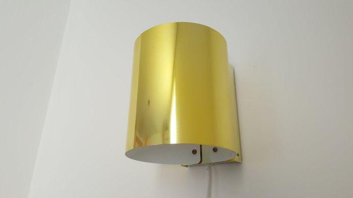 Lampade da parete modello nr. 5607 in ottone di ateljé lyktan set