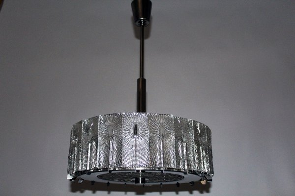 Lampade In Vetro A Sospensione : Lampada a sospensione in vetro di stölzle anni in vendita su