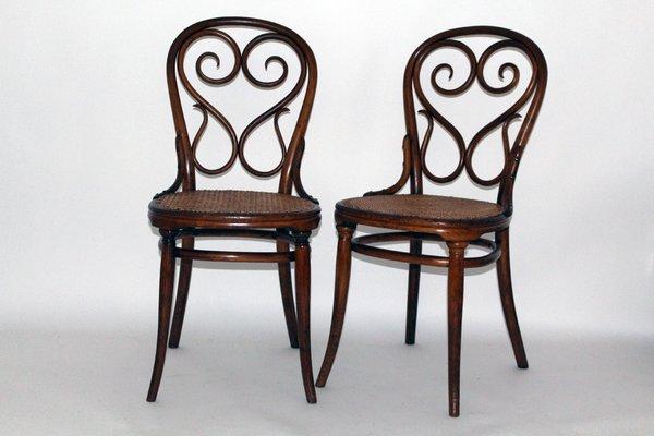 4 Café Daum Chair By Michael Thonet For Thonet 1