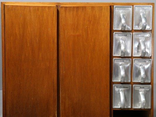 meuble de cuisine frankfurter avec 8 tiroirs haarer par margarete schtte lihotzky 1950s 4