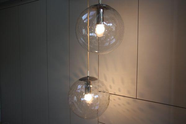 Lampade Da Soffitto Vintage : Lampade da soffitto vintage in vetro di frank ligtelijn per raak