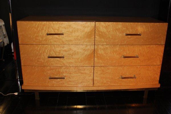 Cassettiera vintage in legno di cedro