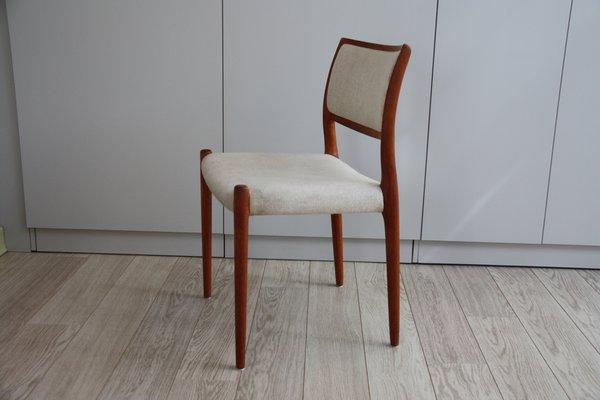 Chaise de Salon Modèle 80 par Niels Otto Möller pour J.I. Möbelfabrik, 1960s