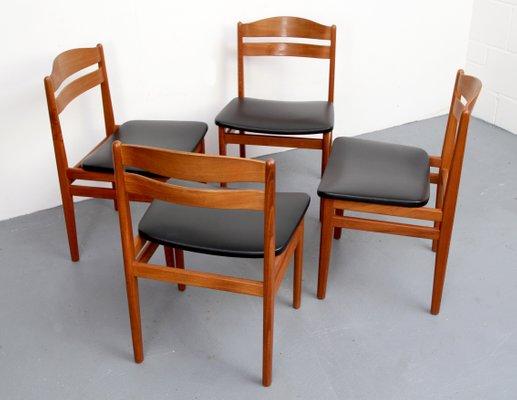 Stühle Dänische Teak S1960er4er Aus Von Set Bamp; 3LA4R5j