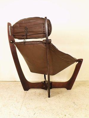 Vintage Luna Lounge Chair by Odd Knutsen for Hjellegjerde