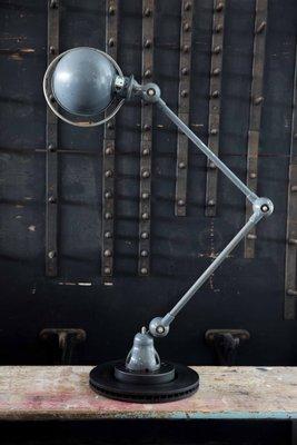 Bedroom || Beautiful Jielde industrial light. Made in France
