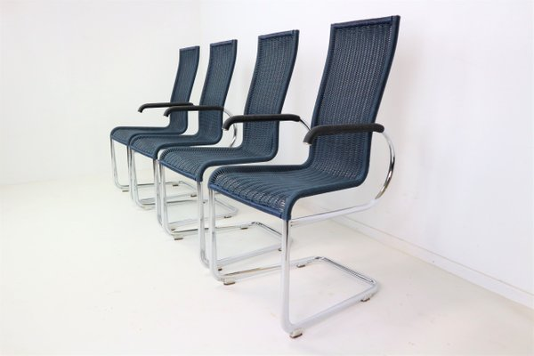 B20 Dining Chairs By Jean Prouvé For Tecta, 1981, Set Of 4 2