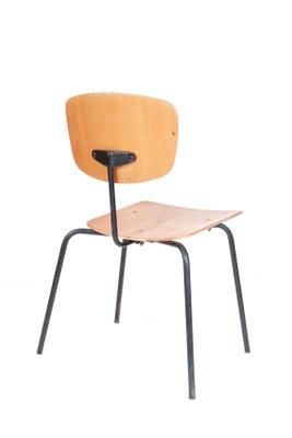 Sedie Metallo E Legno.Sedia Vintage In Metallo E Legno In Vendita Su Pamono
