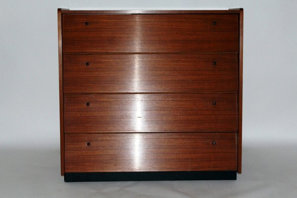 Charmant Small Vintage Shoe Cabinet With Flap Doors And A Drawer 1