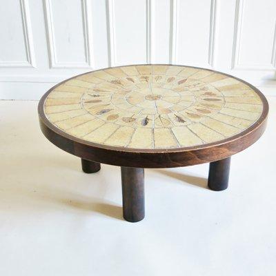 Table Céramique Roger Par En Garrigue Capron1970s Basse SpqVzGLjUM