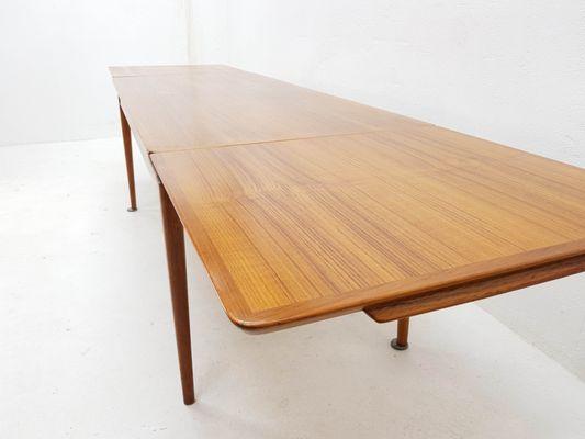 Table Basse Extensible Par Johannes Anderson Pour Cfc Silkenborg 1965
