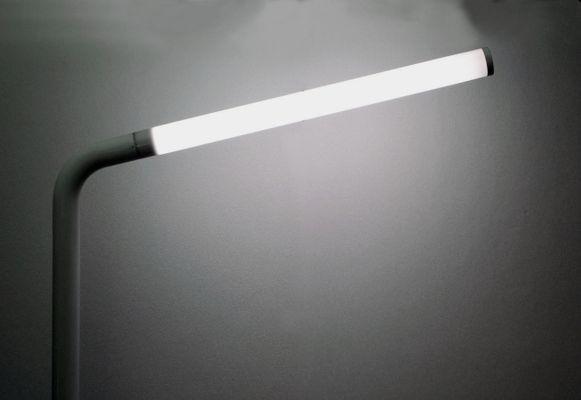 Lampada da terra angolare con luce al neon di tronconi anni