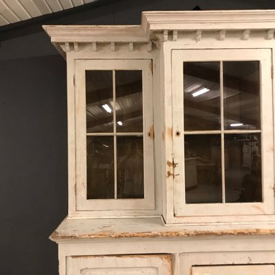 Large French Antique Buffet Cabinet 19th Century
