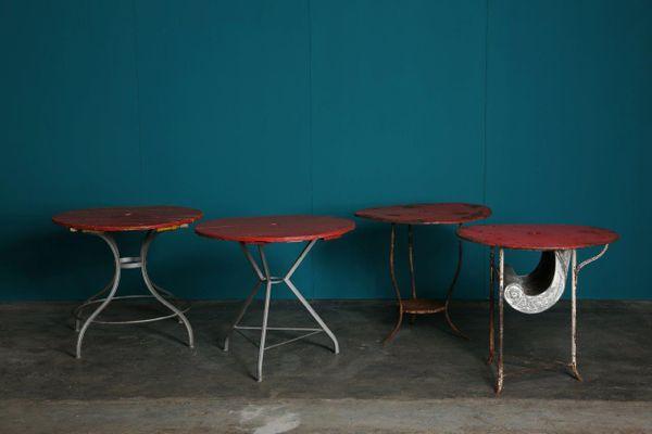 Tavolo Da Giardino Rotondo.Tavolo Da Giardino Rotondo Vintage Italia Anni 30 In Vendita Su