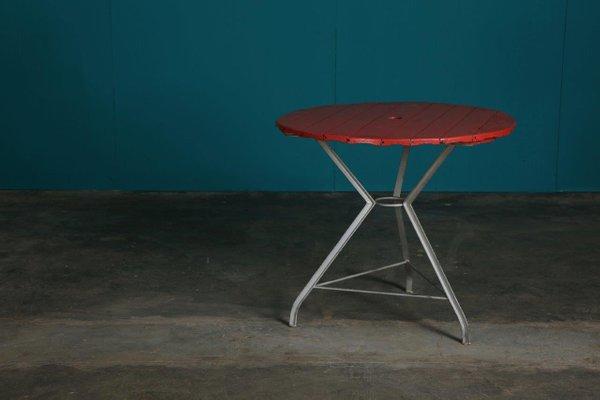 Tavoli Da Giardino Vintage.Tavolo Da Giardino Rotondo Vintage Italia Anni 30 In Vendita Su
