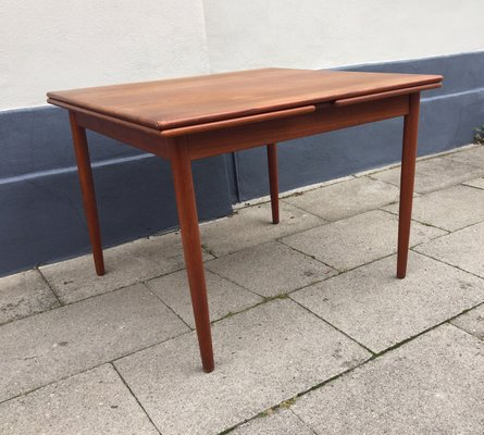 Danish Mid Century Extendable Teak Dining Table From Farstrup 1960s 1