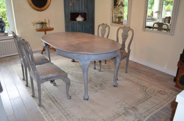 Antique Dining Room Set For Sale At Pamono