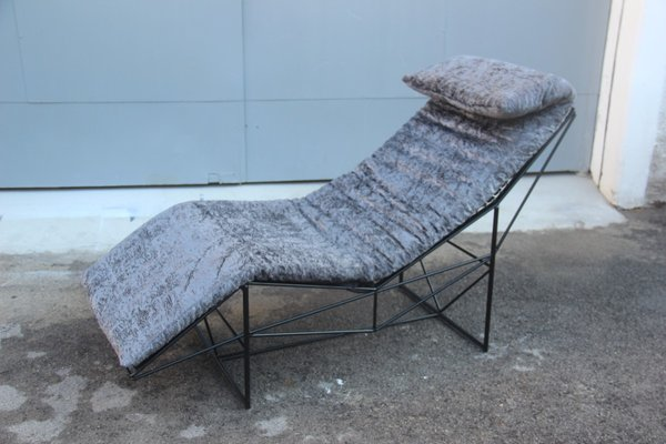 Chaise Longue by Paolo Perini for Uvet, 1985 for sale at Pamono on chaise recliner chair, chaise furniture, chaise sofa sleeper,