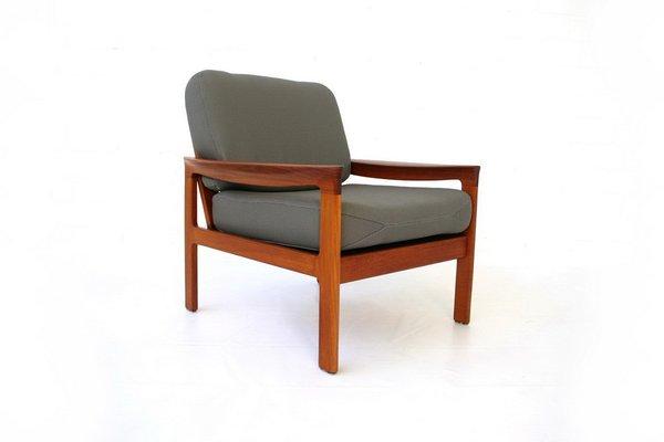 Teak Lounge Chair By Arne Wahl Iversen For Komfort Denmark, 1960s 2