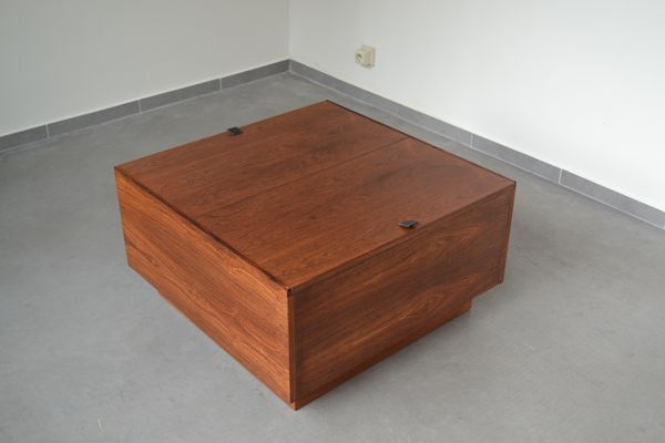 Finnish Mid Century Coffee Table Storage Box From Vilka