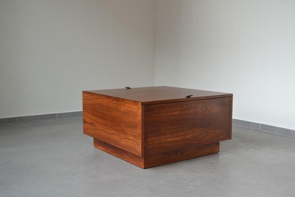 Finnish Mid Century Coffee Table Storage Box From Vilka
