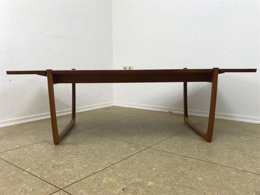 Teak Coffee Table By Peter Hvidt Orla Molgaard Nielsen For
