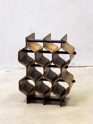 Mid Century Modern Wine Rack By Torsten Johansson For Ab Formträ 1