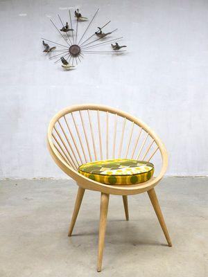 Vintage Circle Chair By Yngve Ekström For Swedese 2
