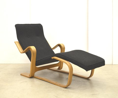 Birch Chaise Longue By Marcel Breuer For Isokon 1950s 1