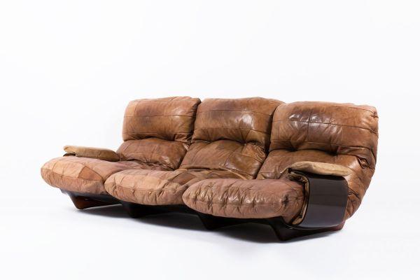 Marsala Sofa By Michel Ducaroy For Ligne Roset 1970s 2