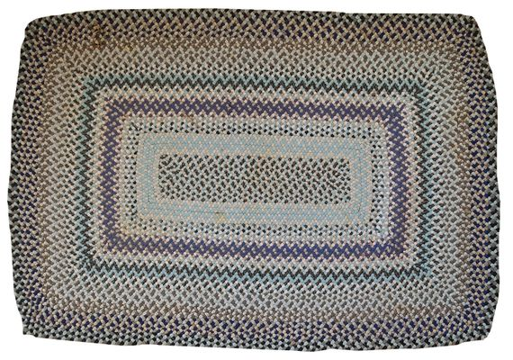 Handmade American Braided Rug 1960s For Sale At Pamono