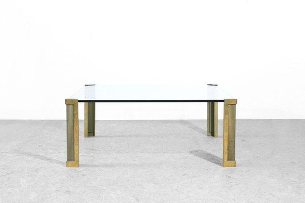 en Basse par Peter Ghyczy1970s Bronze Table et Verre MVSzpqU