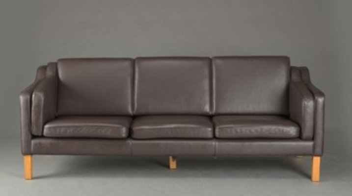 Leather 3-Seater Sofa, 1990s for sale at Pamono