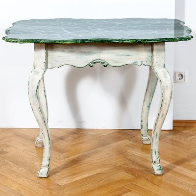 19th Century Louis XV Style Baroque Side Table 3