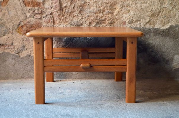 Vintage Danish Square Coffee Table From Cfc Silkeborg For Sale At Pamono
