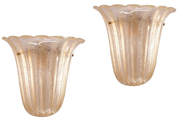 Vintage Italian Sconces from Barovier e Toso, Set of 2 for sale at ...