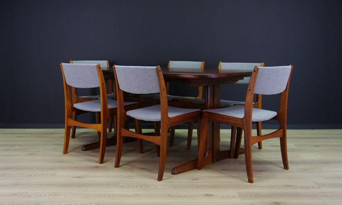 Attrayant Mid Century Danish Chairs From Skovby, Set Of 6 2