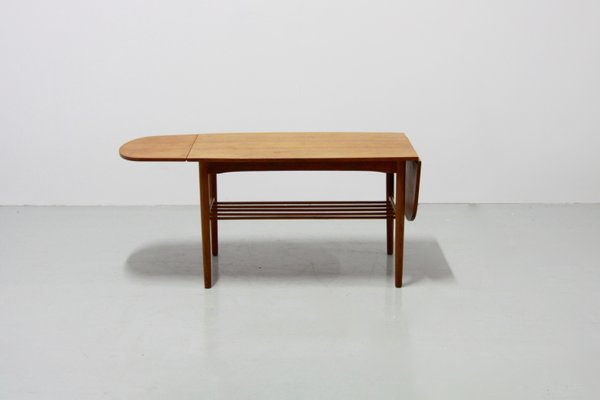 Vintage Danish Extendable Coffee Table 1960s 2