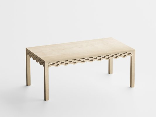 Ash Plank Table By Mario Alessiani For Dialetto Design 1