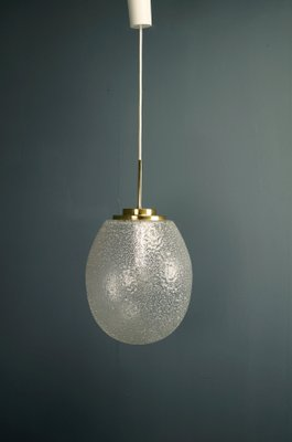 Large Drop Pendant Light In Ice Gl From Doria