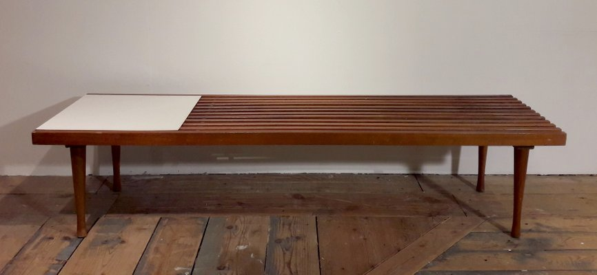 a8057697335 American Coffee Table In Latticed Wood And White Laminate 1960s For. Found  Burl Laminate Square Coffee Table. Chisamba Center Table With Laminate  Finish