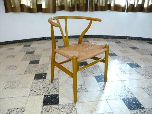 ch 24 wishbone chairs by hans j wegner for carl hansen søn 1950s
