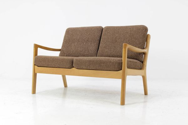 Vintage Oak Model 166 Senator Sofa By Ole Wanscher For CADO 2