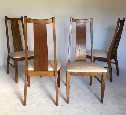 American Chairs From Garrison Furniture Company 1960s Set Of 4 For