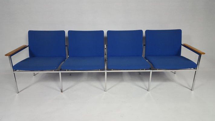 Vintage Modernist 4-Seater Sofa by Sigvard Benadotte