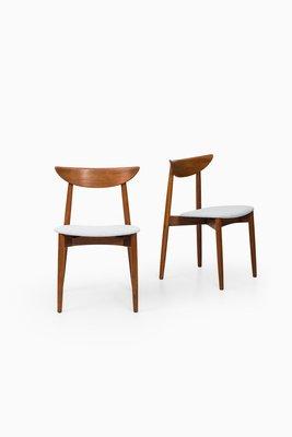 Scandinavian Dining Chairs By Harry Østergaard For Randers Møbelfabrik,  1950s, Set Of 6 1