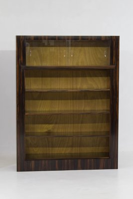 Art Deco Macassar Ebony Bookcases By H Wouda For Pander 1920s Set Of