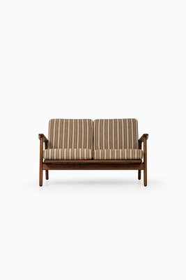 GE-233 Mid-Century Danish Sofa by Hans Wegner for Getama, 1950s